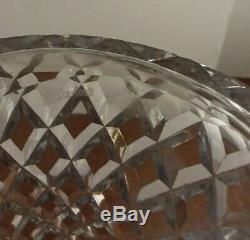Waterford Crystal Alana 13 1/2 Tall Decanter Faceted & Diamond Cut