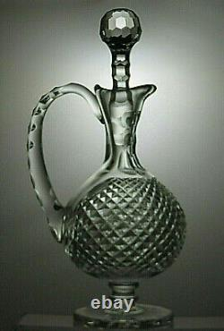Waterford Crystal Heritage Collection Master Cutter Claret Decanter 12 1/2 Tall