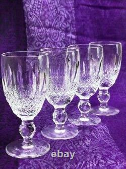 Waterford Decanter with Stopper & Eight (8) Sherry Glasses Colleen Cut BEAUTIFUL