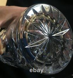 Waterford Flare & Diamond Cut Crystal Liquor Spirit Decanter Ireland Signed