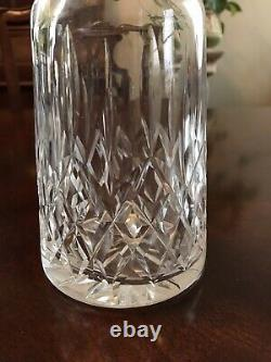 Waterford Lismore Signed Cut Crystal Whisky Or Wine Decanter