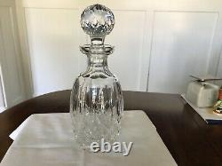 Waterford Lismore Spirit Decanter With Multi Cut Stopper Mint