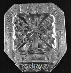Waterford Square Cut Crystal Decanter Giftware (10 1/4 Tall)