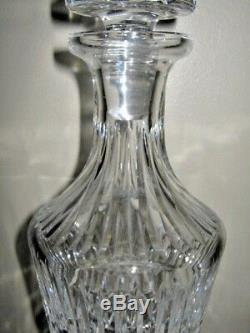 Waterford crystal footed white wine decanter MAEVE w cut stopper